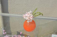 色とりどりの小さな花瓶たち