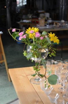 お花を生ける